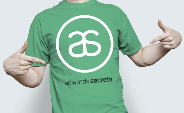 חולצה ממותגת עבור AdWords Secrets - מדריך לפרסום באינטרנט